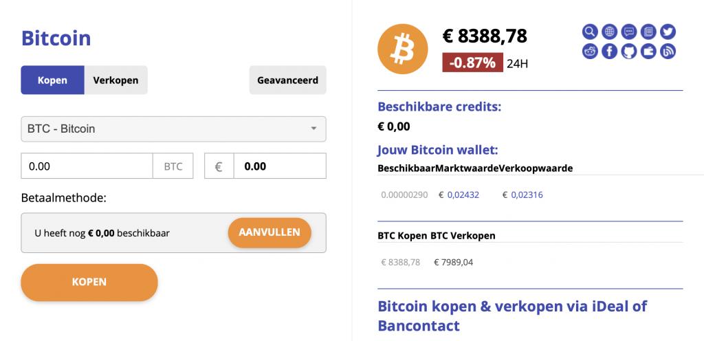 koop bitcoin bij Bitcoinmeester