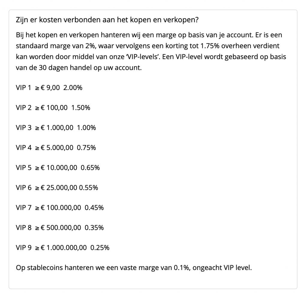 Kosten Bitcoinhelper