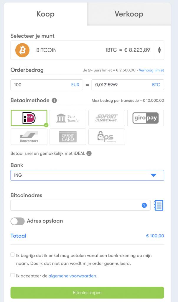 Bitcoin kopen bij BTC Direct