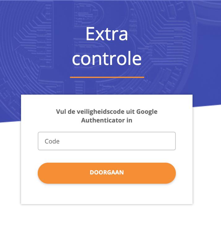 Extra controle bij Bitcoinmeester