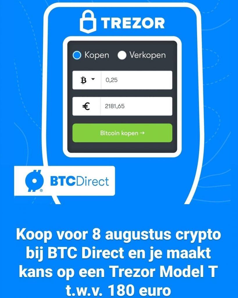 Maak een account aan bij BTC Direct
